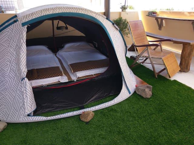 3F空中小花園戶外帳篷區(有頂棚)