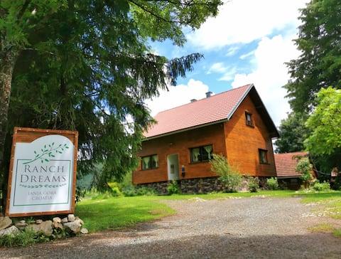 Mieszkanie Ranch Dreams w pobliżu Jezior Plitwickich