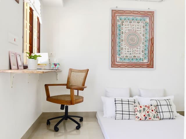 Breezy Terrace Room near Auroville Main Road