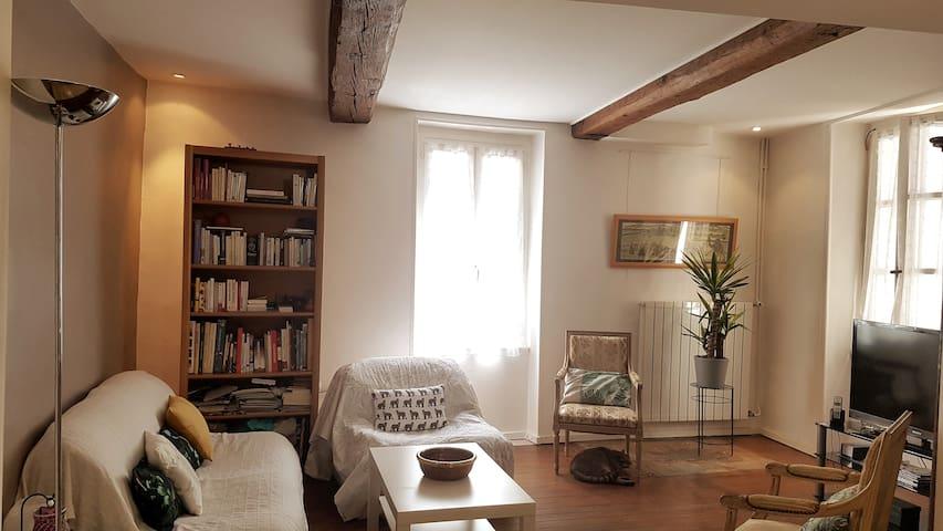 Chambre paisible chez l'habitant (avec mezzanine)