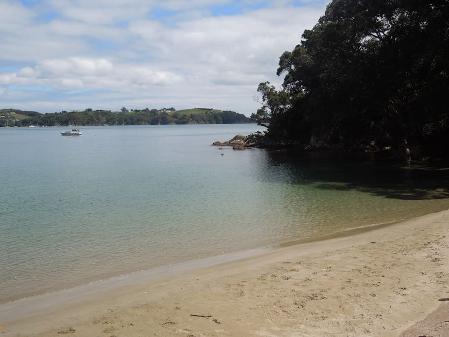 Sandy Bay - 10 minute walk