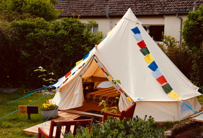 Bell tent 1 - Quercus Glamping, Ullapool
