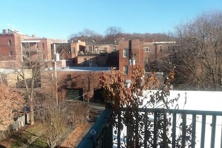 Sunny Troy Private Deck Parking Wifi Top Floor