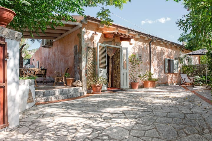 "Charming Holiday Home ""Casa Piera"" with Air Conditioning, Garden & Terrace; Parking Available"