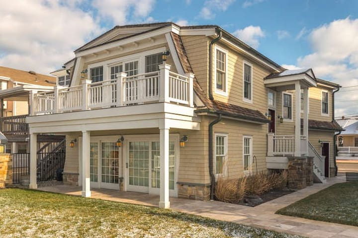 Bayfront home on Sunset Lake. - Wildwood Crest - Apartamento