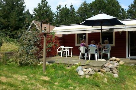 Helårsisol. sommerh. 400 m fra Limfjorden. 2 huse - Spøttrup - Ξυλόσπιτο