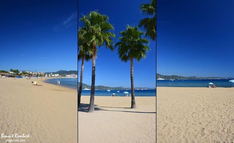 SAINT-TROPEZ (golfe) bord de mer