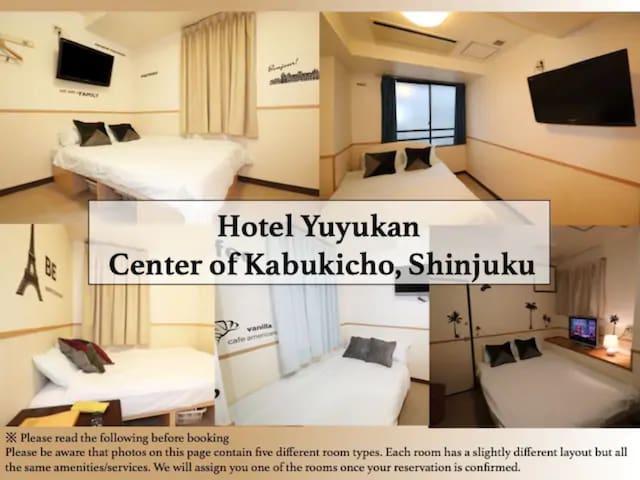 NEW! Hotel Yuyukan Center of Kabukicho, Shinjuku
