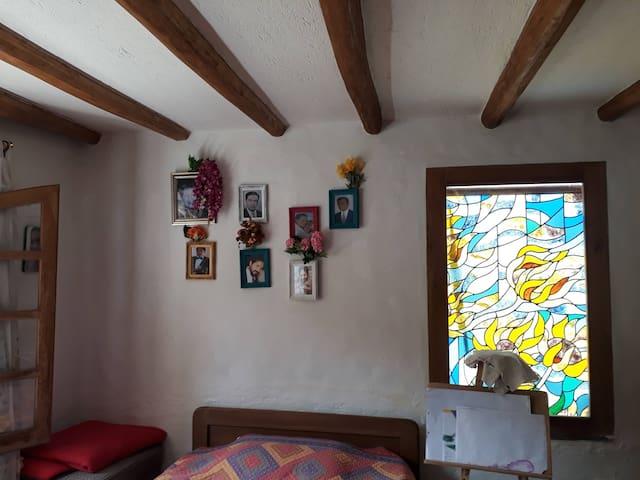 Habitación cómoda y grata
