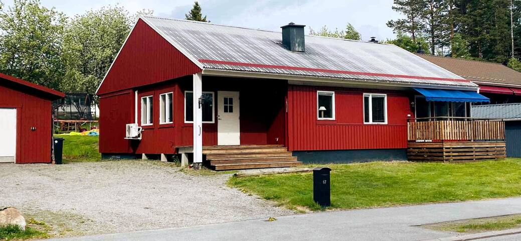 Hus Nära Northvolt site, /Rönnskär och Skellefteå