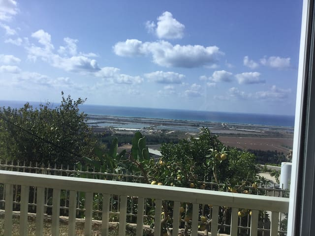 Panoramic ocean view suit - Zikhron Ya'akov - Rumah