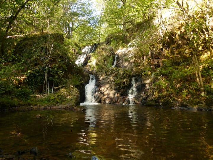 les cascades de Gourlastine
