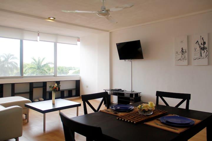 Céntrico Departamento en Mérida/401 - Mérida - Apartamento