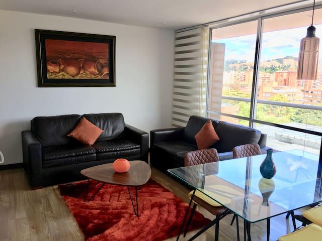 Apartamento lindo, tranquilo y muy bien ubicado