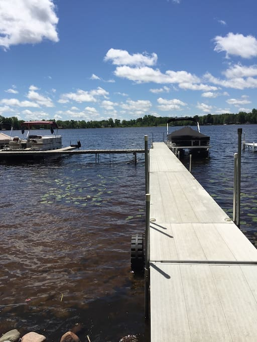 This is your dock space for your own boat or a rental.