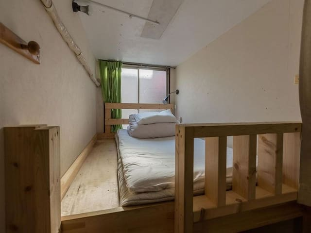 Dormitorio por de la torre (2 estaciones de Namba)