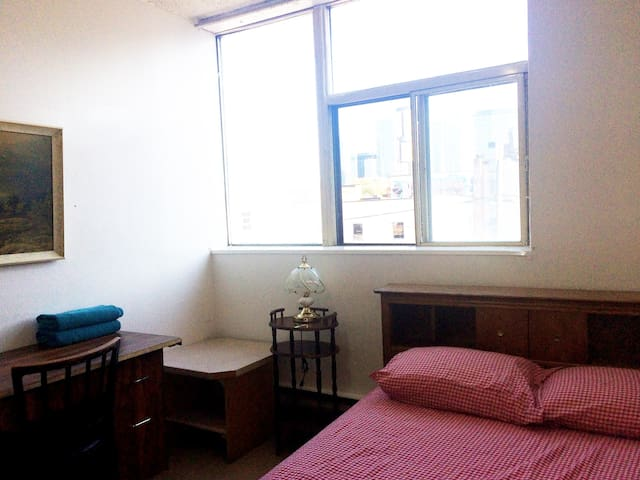 Bright room in core downtown Toronto