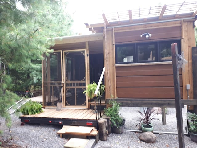Twiglet tinyhouse/cottage at Natures Energy Centre