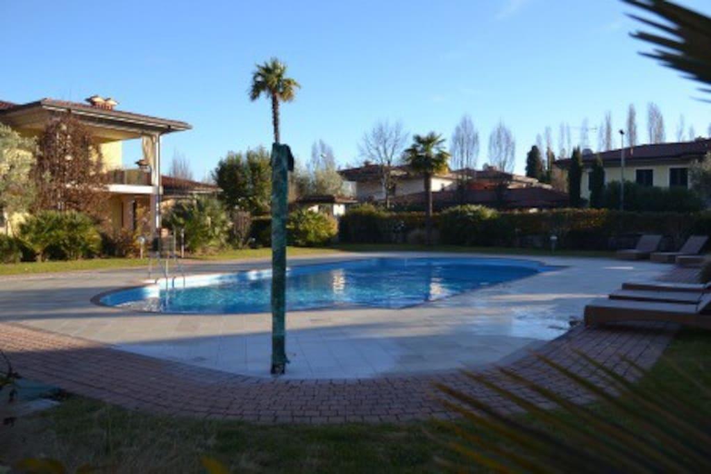 Altra vista della piscina