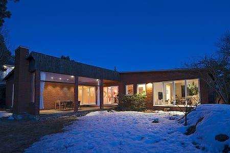 Modern villa with two fireplaces - Huddinge - Haus