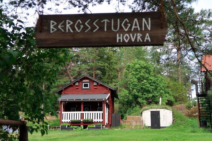 Charmig 1800-tals stuga, 5minuter från Nyköping