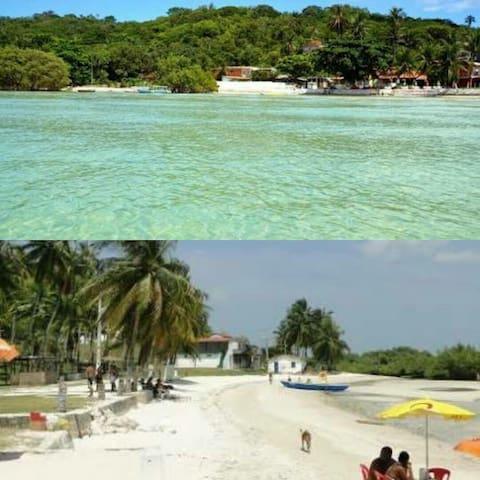 Praia das Neves  Caribe baiano beleza do suburbio