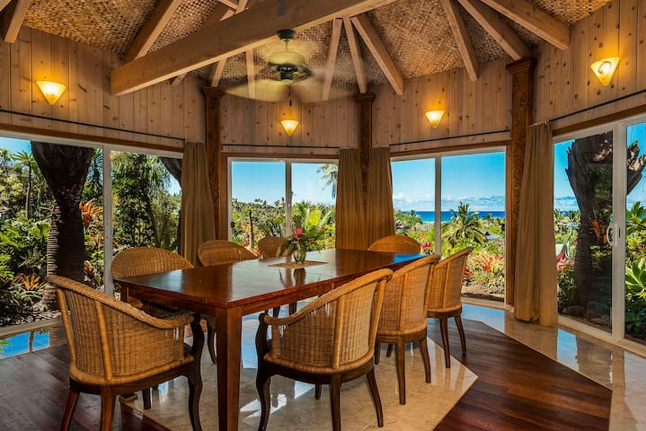 Kauai Gardens Estate, Ocean View Private Oasis, 4 Private Suites on 1.3 Acres