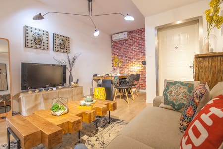 【Aster】5br,150sqm!   Wonderful Living room @FFC - Shanghaï - Appartement