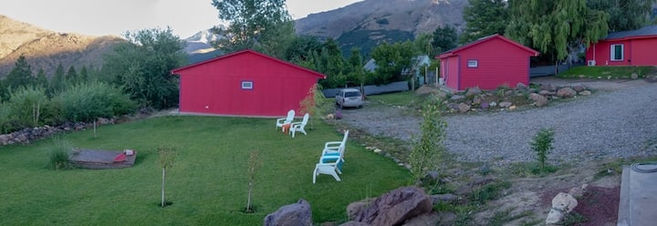 Cabaña 1 dormitorio cama matrimonial -  Huinganco