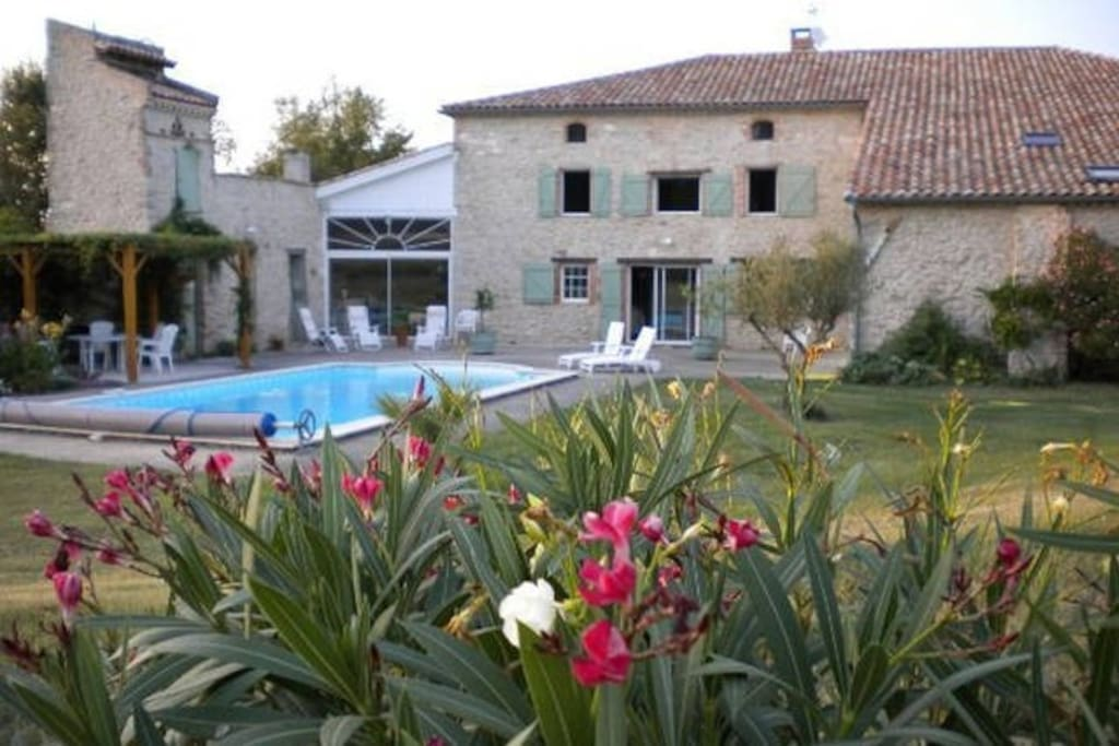 Chambres d 39 h tes chambre verte dans le tarn houses for Chambre d hotes languedoc