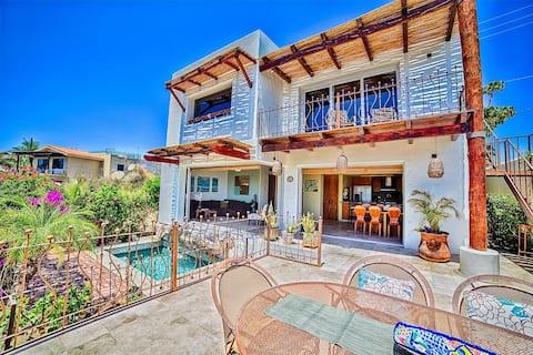 Casa Cali Seen on HGTV's Mexico Life! Ocean Views!
