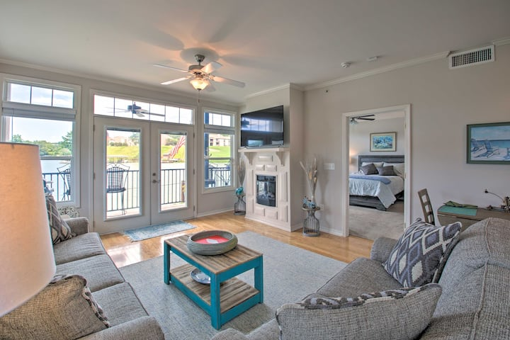 NEW! Hot Springs Condo Situated on Lake Hamilton!