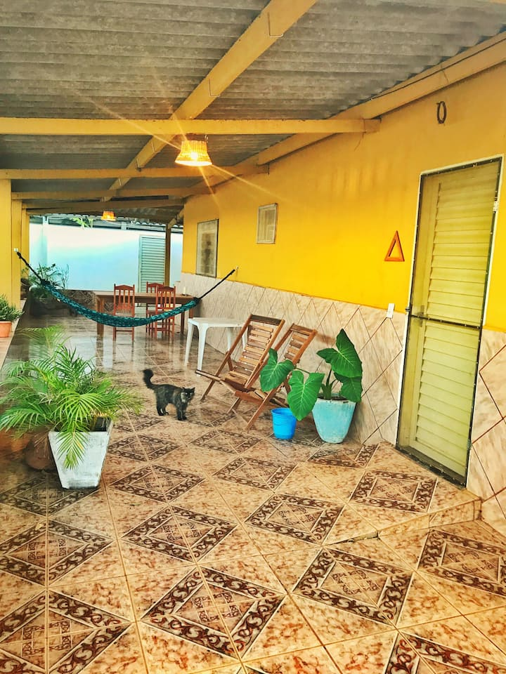 House with patio in Abadiania