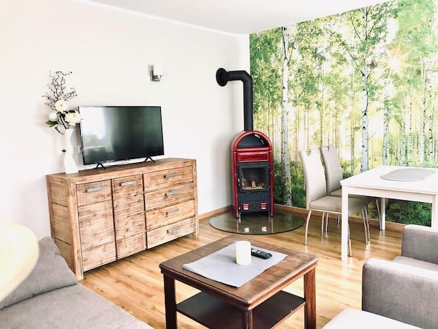 ⭐️⭐️neues Apartment mit Kamin und 2 Schlafzimmern ⭐️⭐️