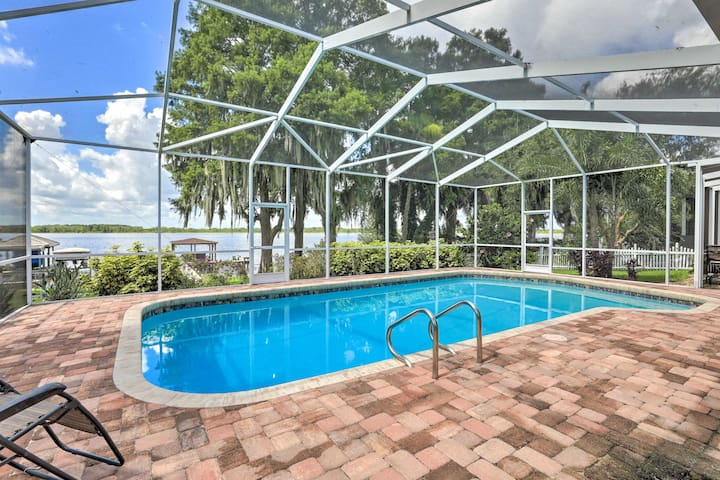 Winter Haven Home with Dock & Hot Tub!