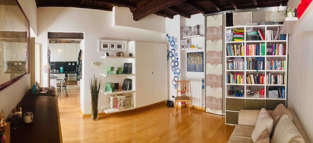 Jewish Neighborhood-Pretty Renewed Home ForTwo