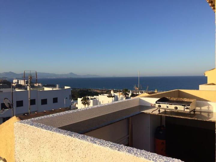 Gran Alacant  Agréable maison vue sur mer