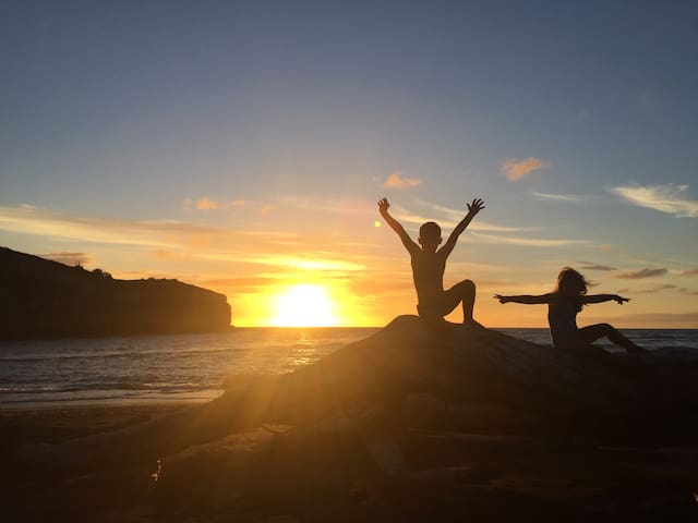 Those sunsets are magic!