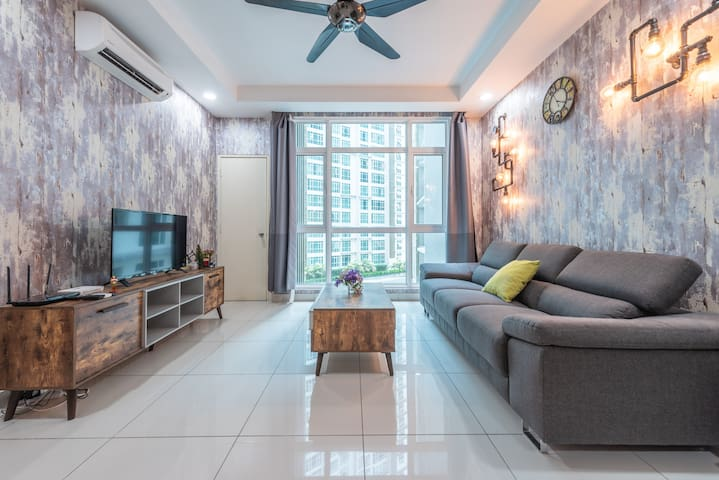 2r2b Cozy Spacious Home Central Residence 6Pax