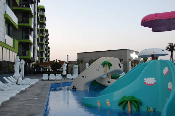 Umi Apartment Alezzi Resort Beach