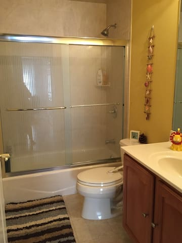 clean room with private bathroom - Lodi