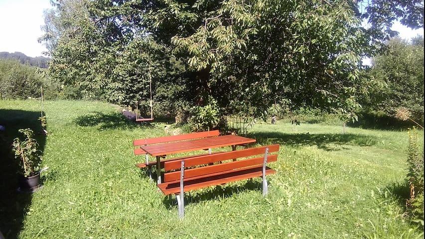 Novohradsko na samotě u lesa v oáze klidu