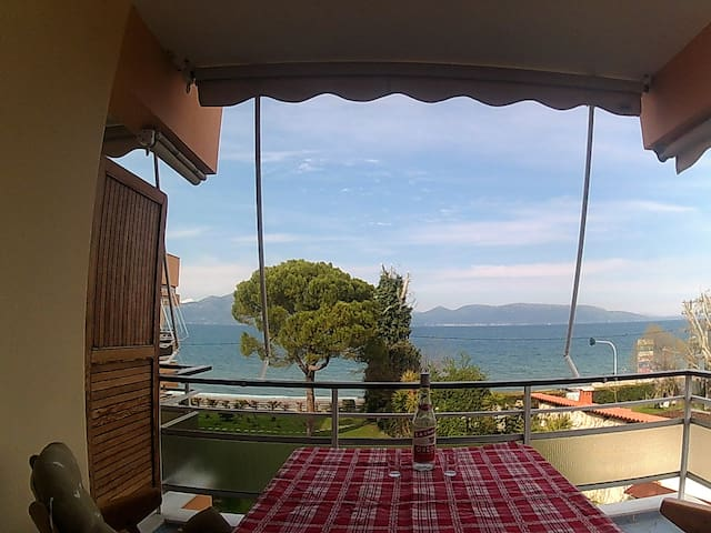 Cozy Summer Seaside Flat with Amazing Sea View - Oropioi