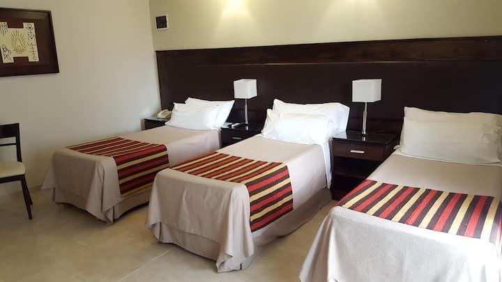 Habitacion privada en complejo Hotelero.