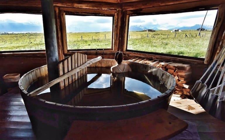 Cabaña Bandurria con hot tub privado