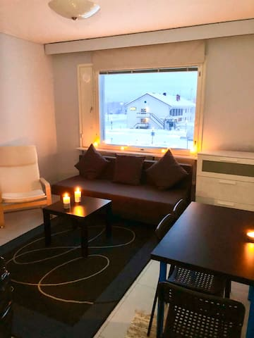 Best located Studio for up to 4 persons in Ivalo
