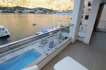 Luxury villa with pool and beautiful view - Muo - Villa