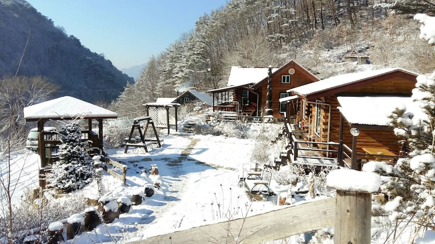 [A동/정선통나무집]Jeongseon Korea - Jeongseon-gun - House