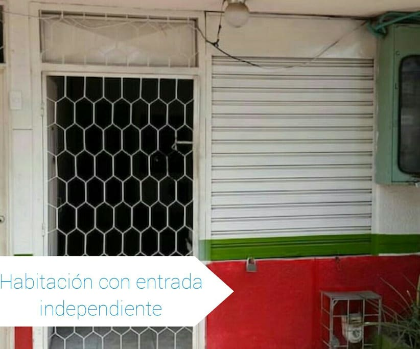 Entrada independiente y segura