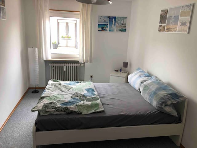 Ramstein/private bedroom and bathroom.WI-FI,TV .